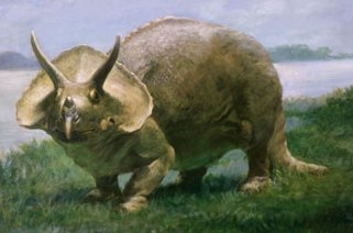 Triceratops by Charles R. Knight